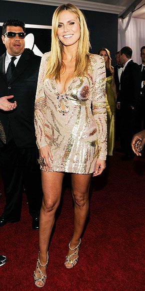 HEIDI KLUM photo | Grammy Awards 2010, Heidi Klum