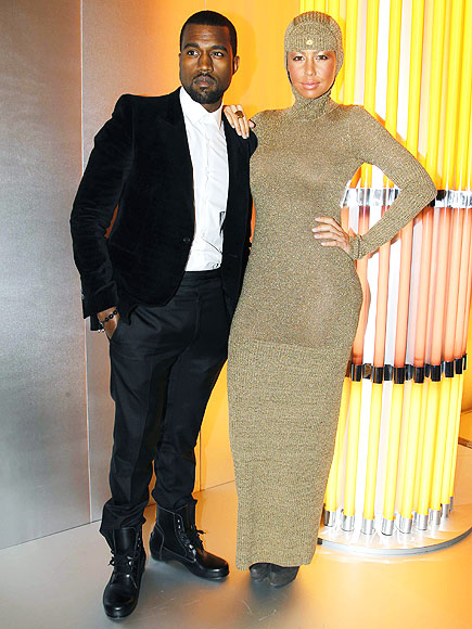 GOLDEN GIRL  photo | Amber Rose, Kanye West