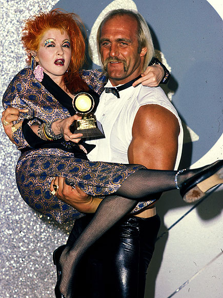 GIRLS JUST WANNA HAVE ... HOGAN? photo | Cyndi Lauper, Hulk Hogan