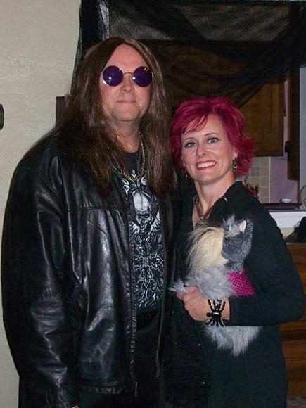 Ozzy And Sharon Osbourne Halloween Costumes Ozzy Sharon Osbourne