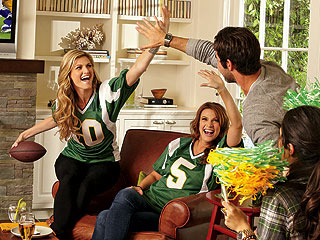 Erin Andrews Throws a Football Party | Erin Andrews