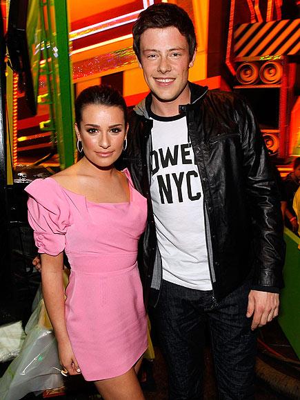 GLEEK OUT photo | Cory Monteith, Lea Michele