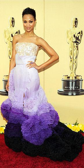 ZOE SALDANA  photo | Oscars 2010, Zoe Saldana