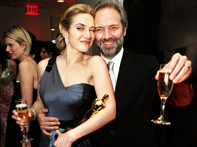 KATE WINSLET & SAM MENDES photo | Kate Winslet, Sam Mendes