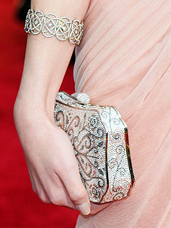 anna kendrick clutch Oscars Red Carpet Style   2010