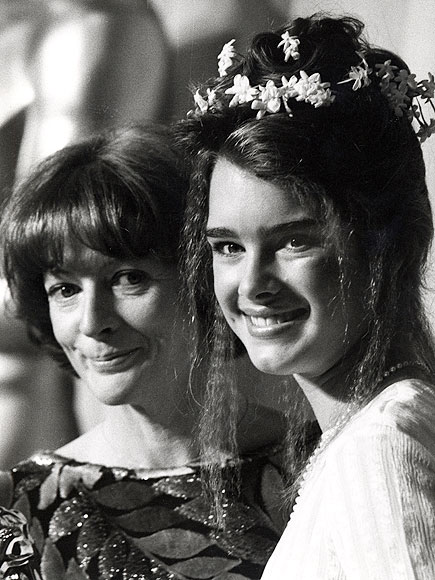 'PRETTY' PAIR photo | Brooke Shields, Maggie Smith