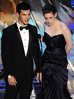 What You Didn't See on the Oscars | Oscars 2010, Kristen Stewart, Taylor Lautner