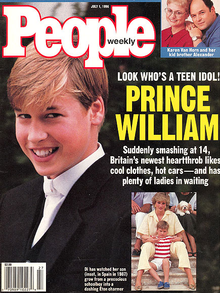 JULY 1996 photo | Prince William