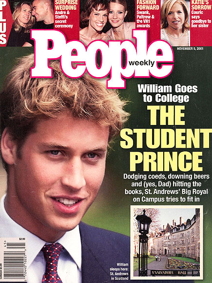 NOVEMBER 2001 photo | Prince William