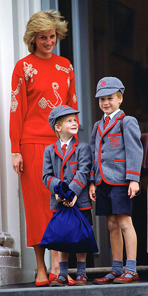 prince william and harry young. Harry, Prince William,