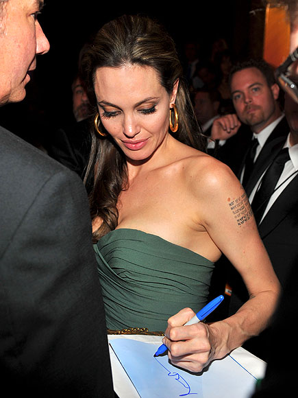 BRAD'S PLUS ONE photo | Angelina Jolie