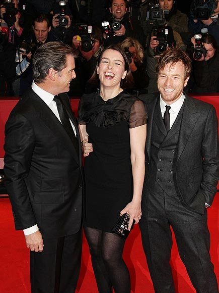 TRIPLE TEAM photo | Ewan McGregor, Olivia Williams, Pierce Brosnan