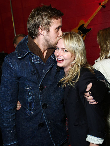 PUCKER UP photo | Michelle Williams, Ryan Gosling