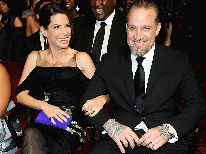 HAND LOCKED photo | Jesse James, Sandra Bullock