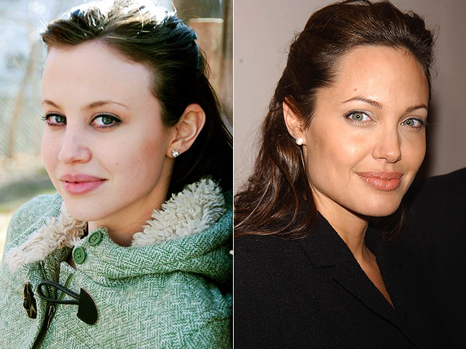 Angelina Jolie Mother Young