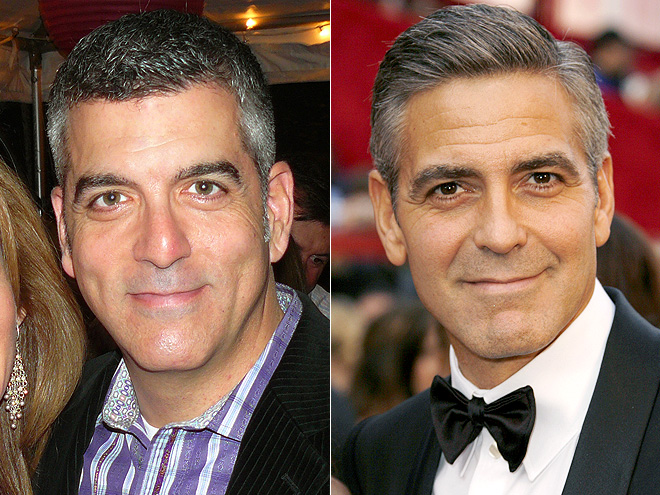 DAVID VS. GEORGE photo | George Clooney