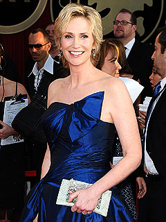 Glee&#39;s Jane Lynch Enjoying a Happy Honeymoon