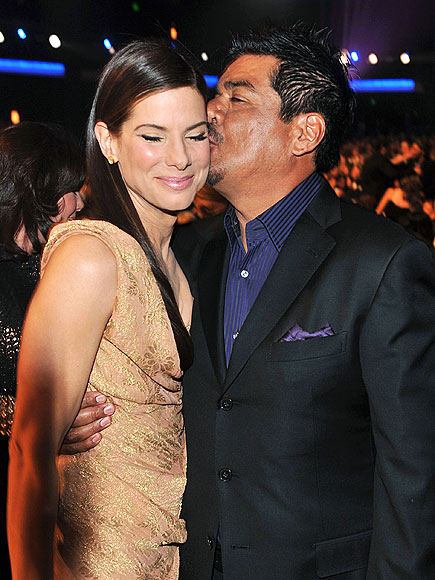 BY GEORGE, SHE&#39;S GOT IT photo | George Lopez, Sandra Bullock