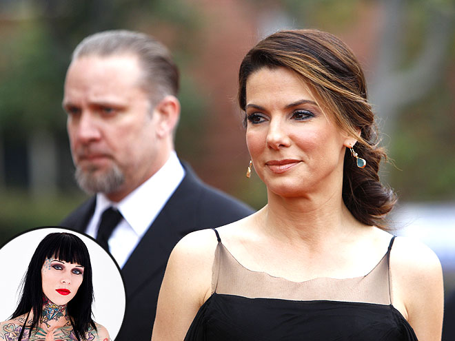 A MAJOR 'BOMBSHELL' photo | Jesse James, Sandra Bullock