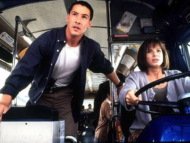 BASIC INSTINCTS photo | Keanu Reeves, Sandra Bullock