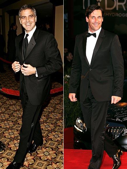 SMA '06, '97: GEORGE SEXY-IN-WAITING: JON photo | George Clooney, Jon Hamm