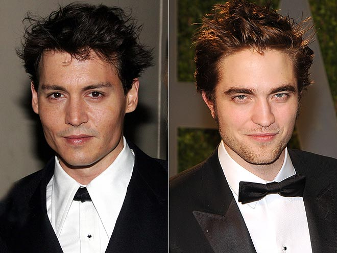 SMA '09, '03: JOHNNY SEXY-IN-WAITING: ROB photo | Johnny Depp, Robert Pattinson