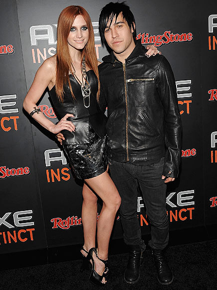 ASHLEE & PETE photo | Ashlee Simpson, Pete Wentz
