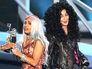 Lady Gaga Sings for Cher (and Her Fans) at the VMAs | Cher, Lady Gaga