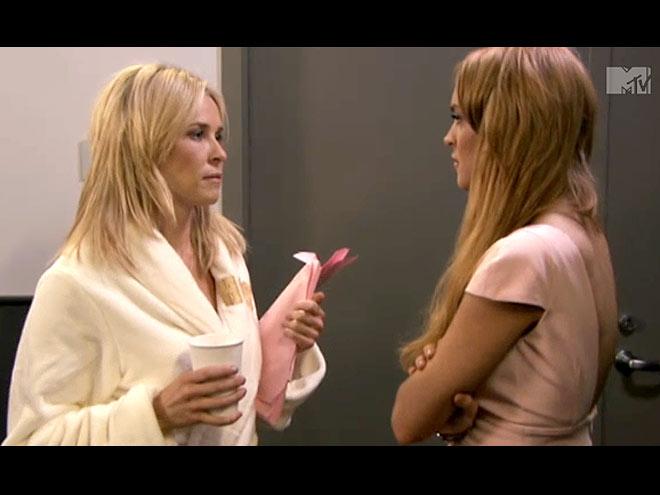 FUNNIEST SKIT: CHELSEA & LINDSAY photo | Chelsea Handler, Lindsay Lohan