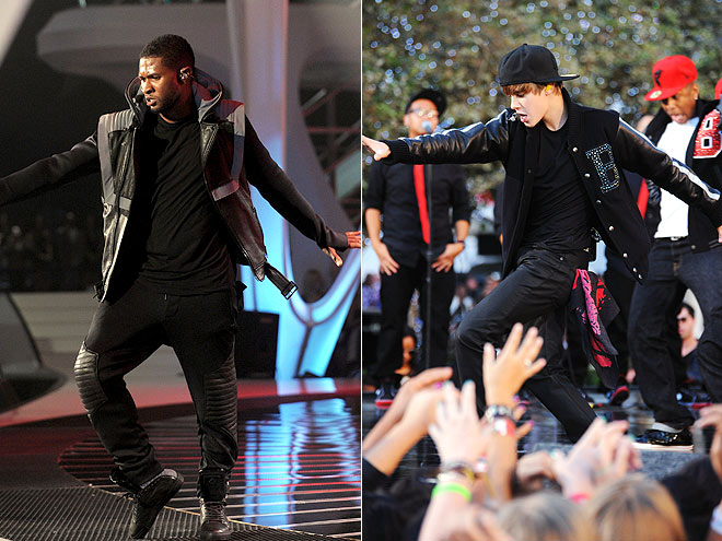 BEST DANCE MOVES: USHER photo | Justin Bieber, Usher