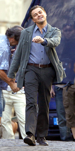 STRUTTING LEO photo | Leonardo DiCaprio