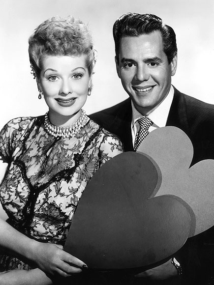 LUCILLE BALL & DESI ARNAZ