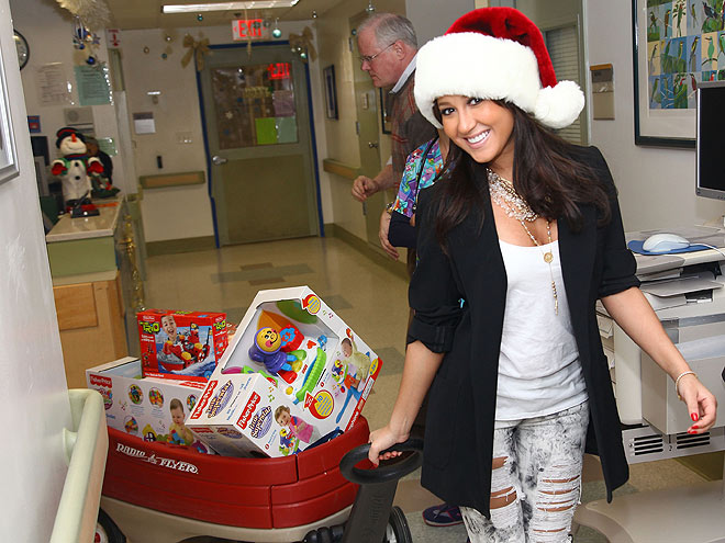 TOYS FOR TOTS photo | Adrienne Bailon