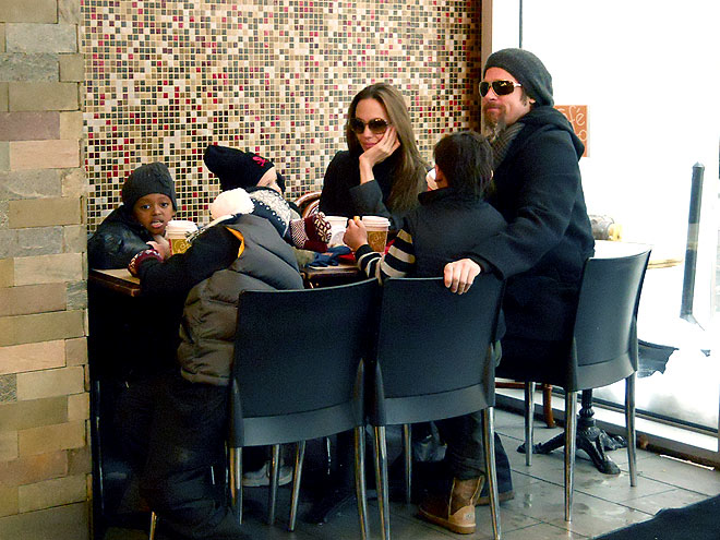HAPPY MEAL photo | Angelina Jolie, Brad Pitt