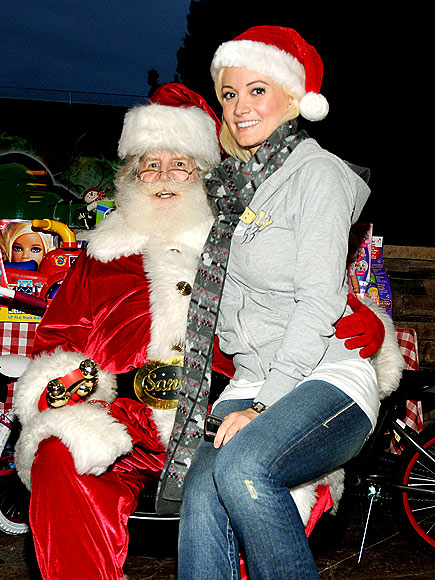SANTA'S HELPER photo | Holly Madison