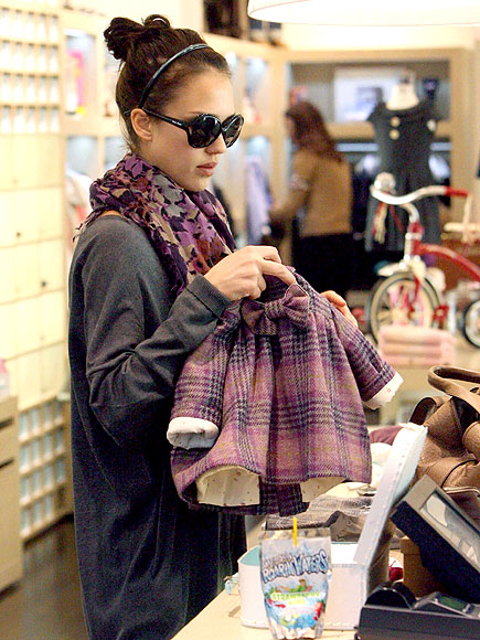 MAD FOR PLAID photo | Jessica Alba