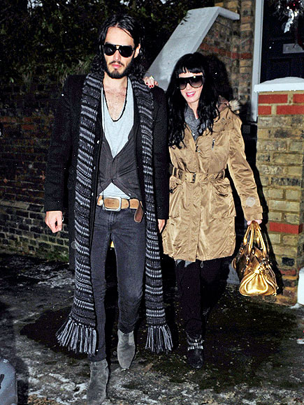 LEAN ON ME photo | Katy Perry, Russell Brand
