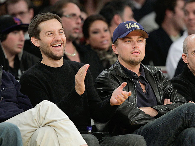 GAME FACES photo | Leonardo DiCaprio, Tobey Maguire