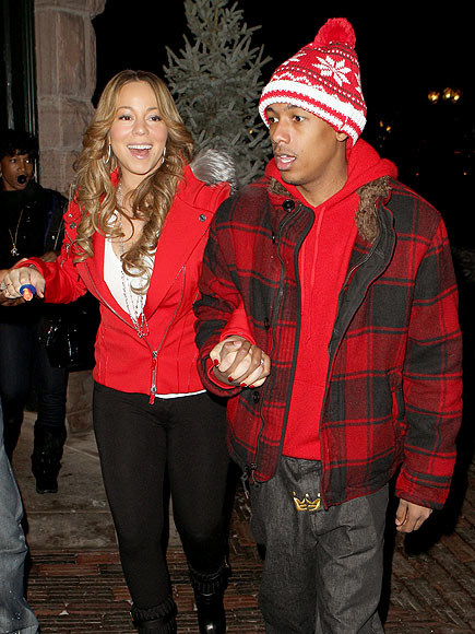 WELL 'RED' photo | Mariah Carey, Nick Cannon