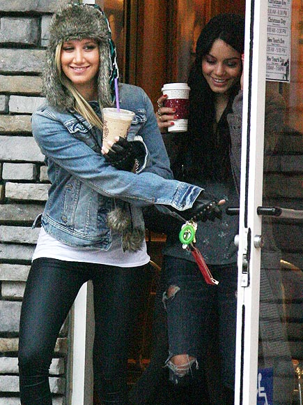 COFFEE MATES photo | Ashley Tisdale, Vanessa Hudgens