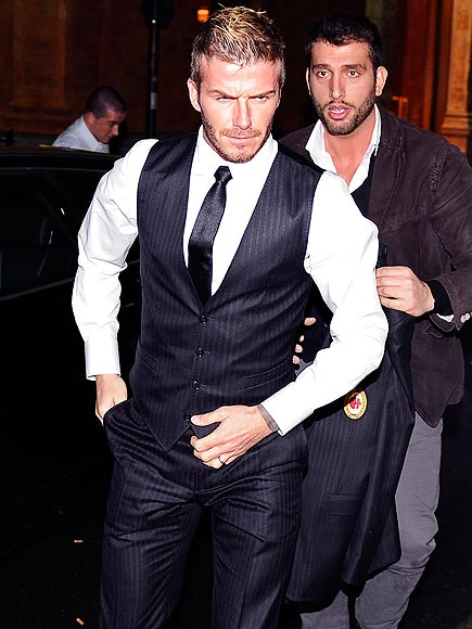 DAPPER DUDE photo | David Beckham