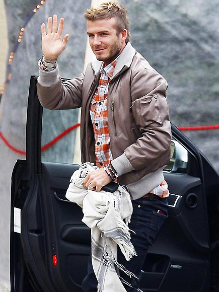 BORROWED GOODS photo | David Beckham