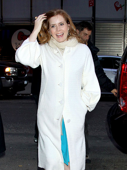 BUNDLED UP photo | Amy Adams