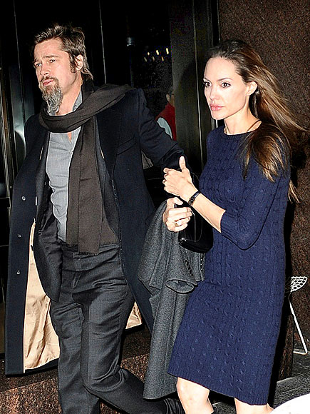DINNER DATE photo | Angelina Jolie, Brad Pitt