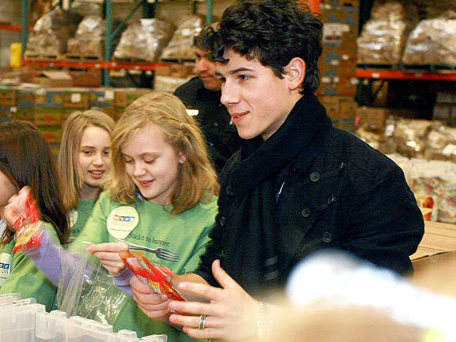 HELPING HAND photo | Nick Jonas