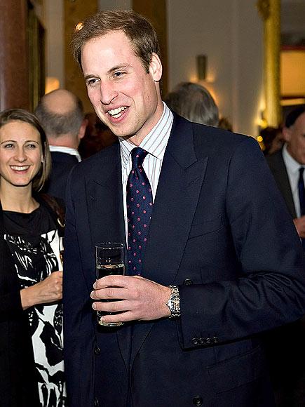 RAISE A GLASS photo   Prince William