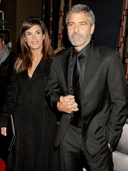 A &#39;FANTASTIC&#39; PAIR photo | Elisabetta Canalis, George Clooney