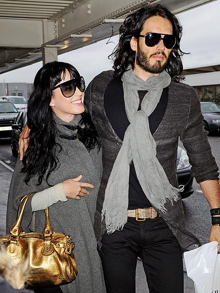 FULLY ENGAGED photo | Katy Perry, Russell Brand