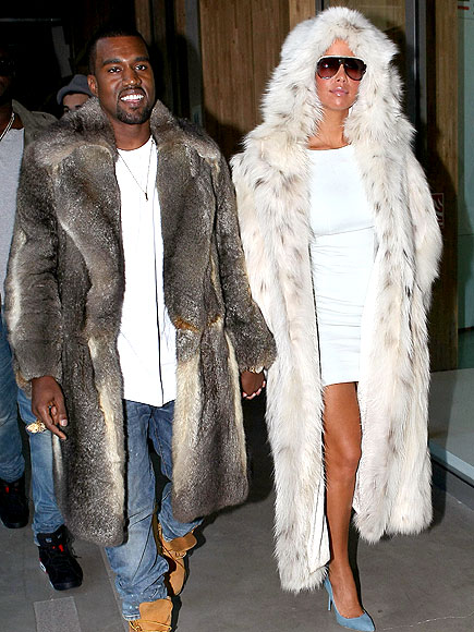 FUR FASHION'S SAKE photo | Amber Rose, Kanye West