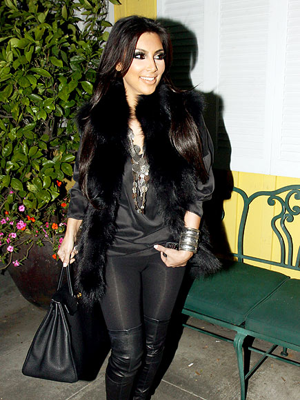DARK NIGHT photo | Kim Kardashian